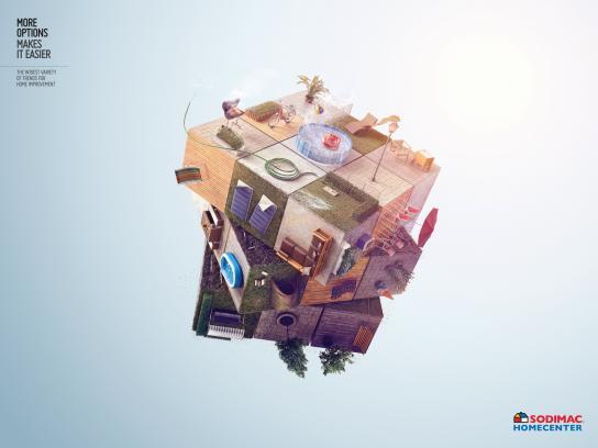 Sodimac Print Ad - Terrace