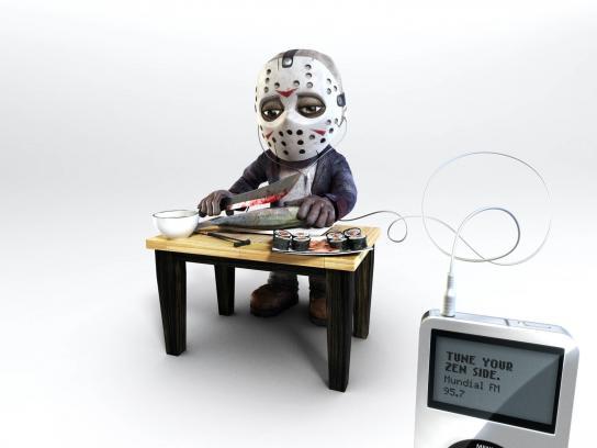 Radio Station Mundial FM Print Ad -  Jason