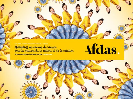 Afdas Print Ad - Multiply, 2