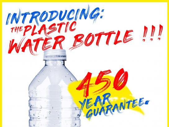Plastic Pollution Coalition Print Ad - #EndTheGuarantee, 1