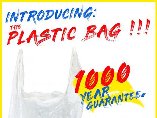 Plastic Pollution Coalition Print Ad - #EndTheGuarantee, 2