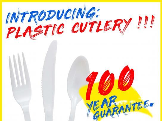 Plastic Pollution Coalition Print Ad - #EndTheGuarantee, 4