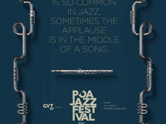 Poa Jazz Festival Print Ad -  Applause