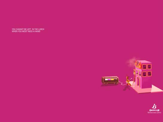 Gráfica JB Print Ad - Refined tone control, 3