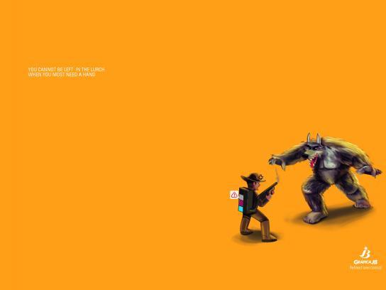 Gráfica JB Print Ad - Refined tone control, 1