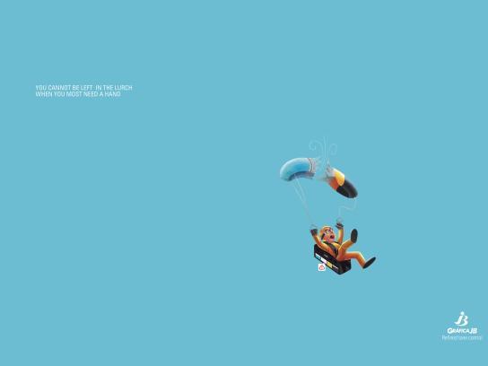 Gráfica JB Print Ad - Refined tone control, 2