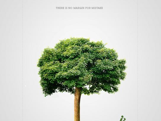 Gráfica JB Print Ad - There is no margin for mistake