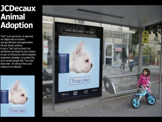 JCDecaux Outdoor Ad -  True like