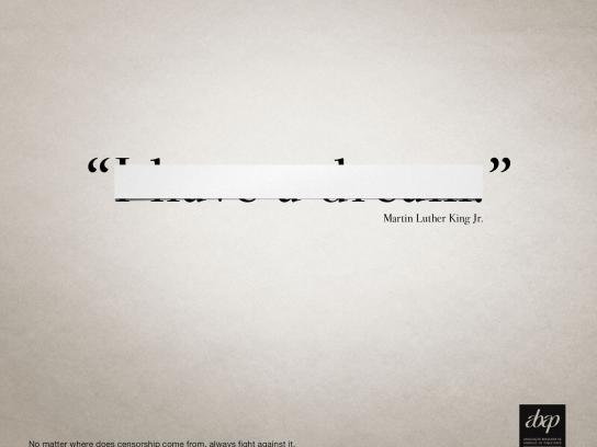 Abap Print Ad -  Martin Luther King Jr.