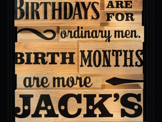 Jack Daniel's Outdoor Ad -  Birthdays