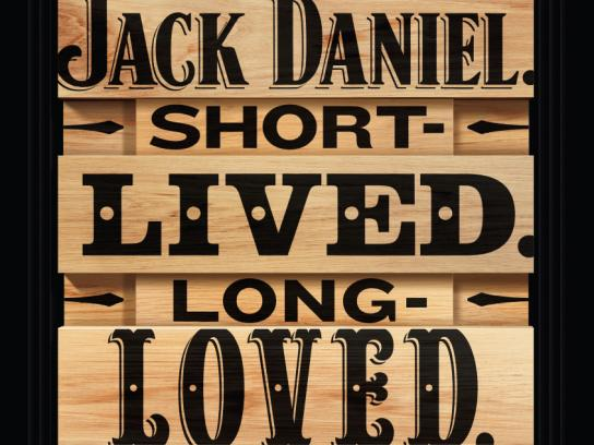 Jack Daniel's Outdoor Ad -  Loved