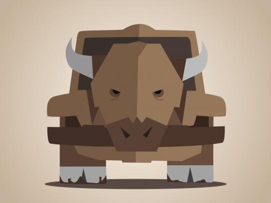 Jeep Print Ad -  Rhino