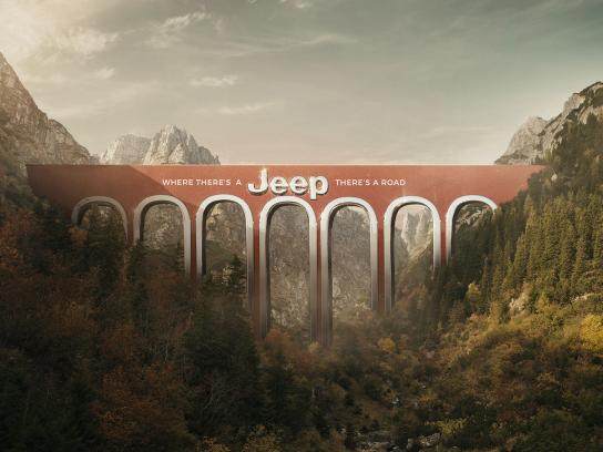 Jeep Print Ad - Bridge, 2