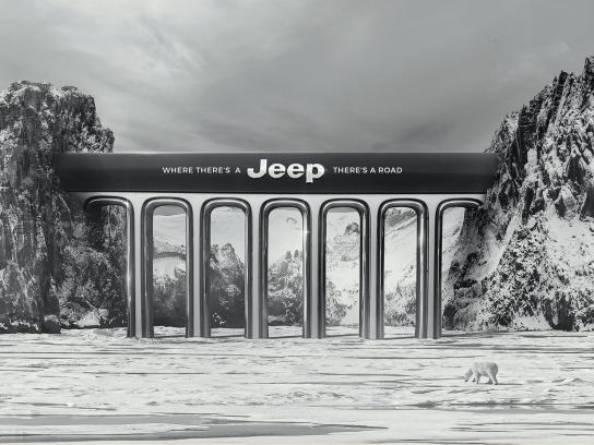 Jeep Print Ad - Bridge