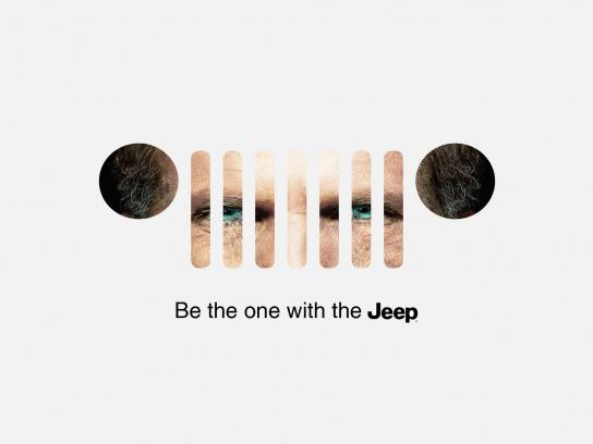 Jeep Outdoor Ad - Be the one