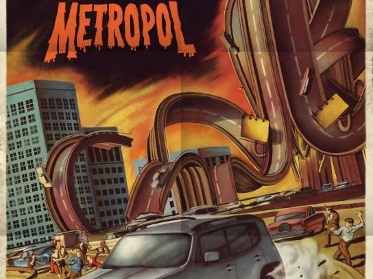 Jeep Outdoor Ad - Escape From Metropol