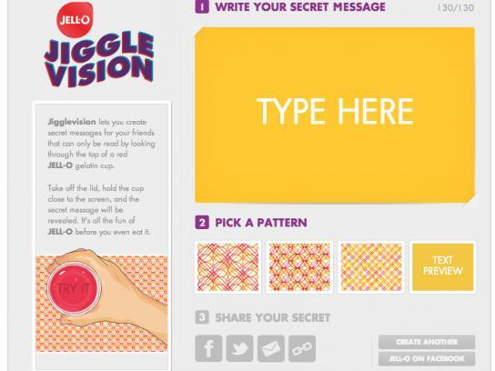 Jell-O Digital Ad -  Jigglevision