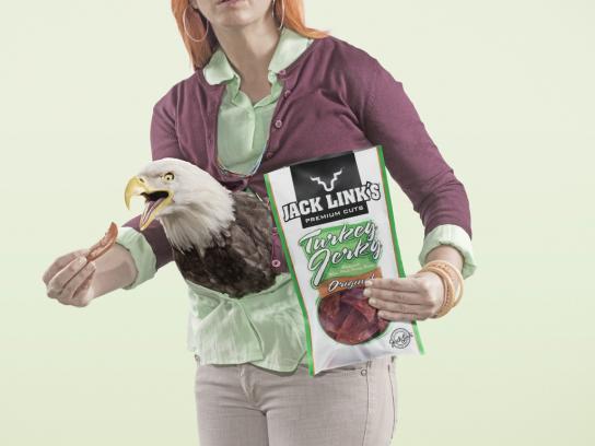 Jack Link's Print Ad -  Eagle