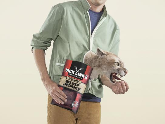 Jack Link's Print Ad -  Puma
