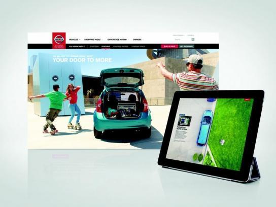 Nissan Digital Ad -  Your Door to More