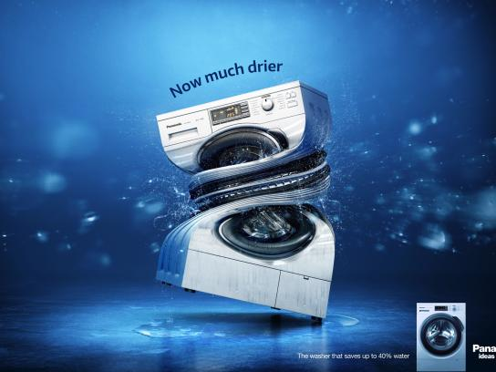 Panasonic Outdoor Ad - Now much drier