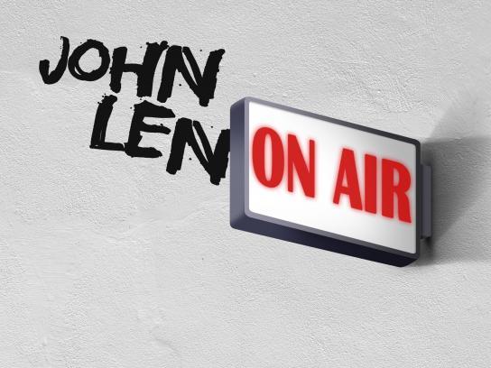 iHeart Radio Print Ad - John Lenon