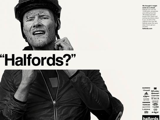Halfords Print Ad -  Jonny