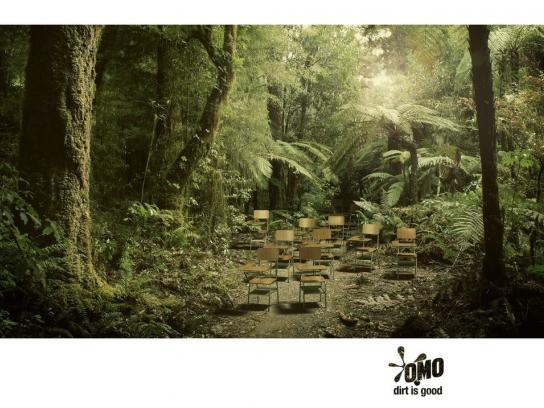 OMO Print Ad -  Classroom Jungle