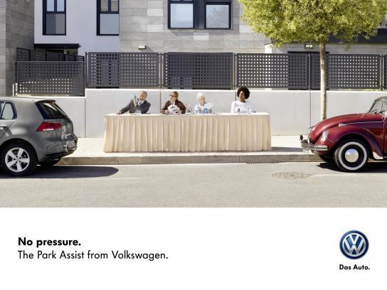 Volkswagen Outdoor Ad -  Jury