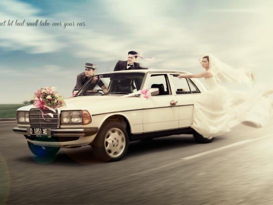 Ambi Pur Print Ad -  Just married!
