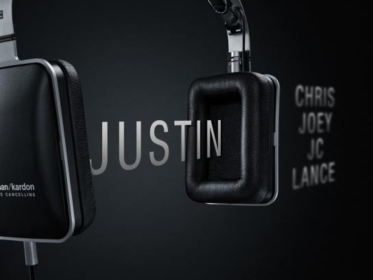 Harman Kardon Print Ad -  Justin