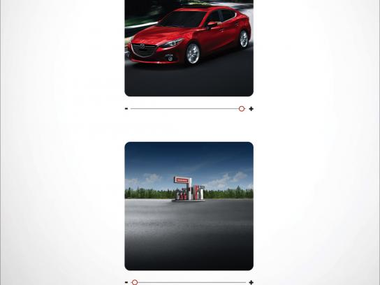 Mazda Print Ad - More for less