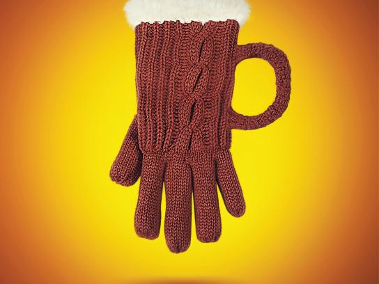 Khao Shong Print Ad -  Glove