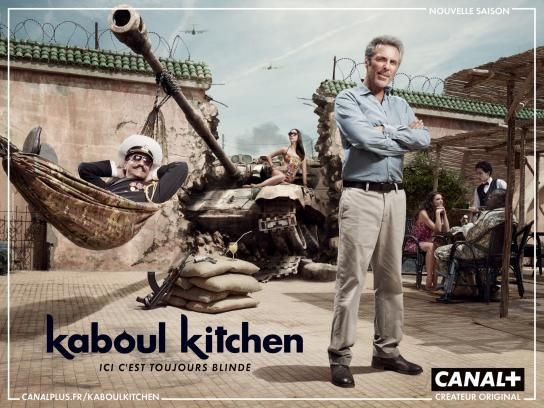 Canal+ Print Ad -  Kaboul Kitchen