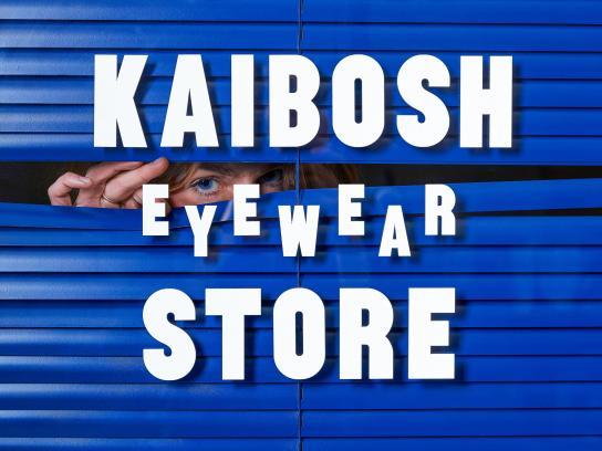 Kaibosh Design Ad - Eyewear Store Identity
