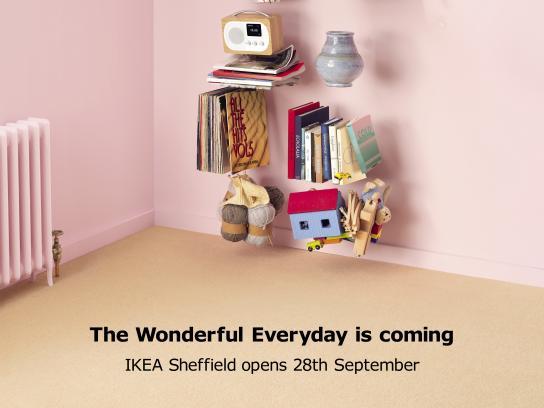 IKEA Print Ad - Kallax