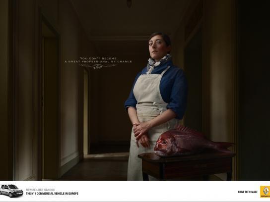 Renault Print Ad -  Professional, 2