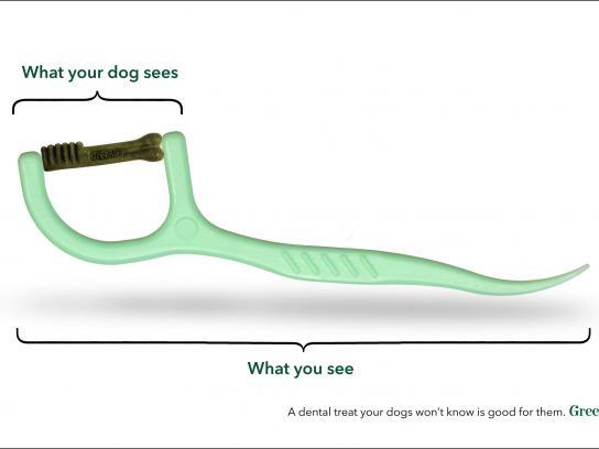 Greenies Print Ad - Toothpick