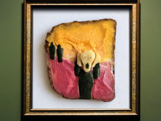 SalzburgMilch Print Ad - Cheese is Art, 3