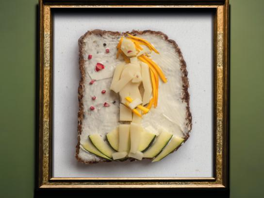 SalzburgMilch Print Ad - Cheese is Art, 4