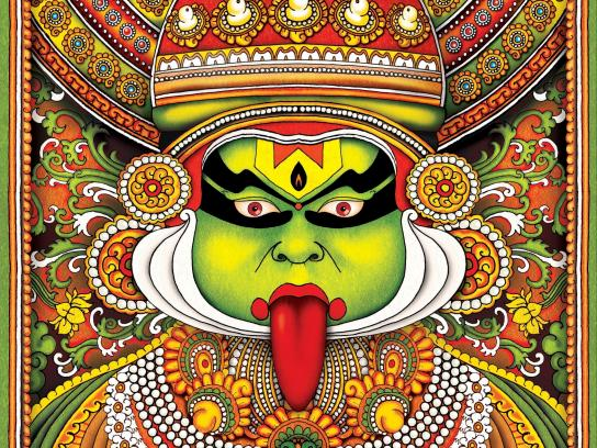 Taste for Life Print Ad -  Kathakali