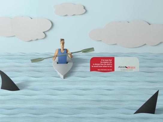Alzas y Bajas Print Ad -  Kayak