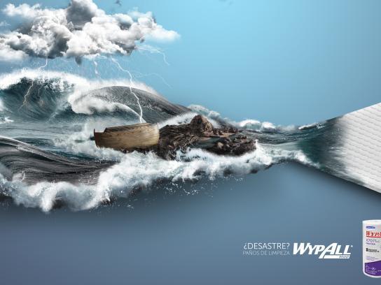 Kimberly-Clark Print Ad - Disaster