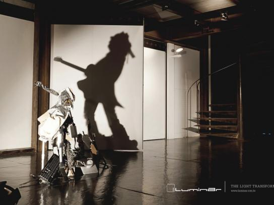 Iluminar Print Ad -  Keith Richards