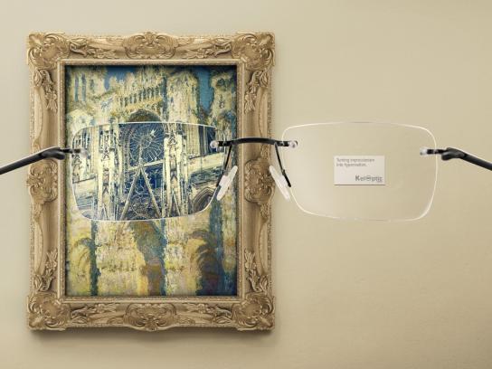 Keloptic Print Ad -  Impressionism, 3