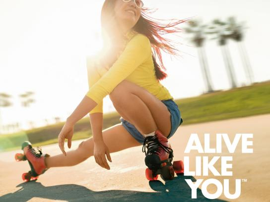 KeVita Outdoor Ad - Alive Like You, 2