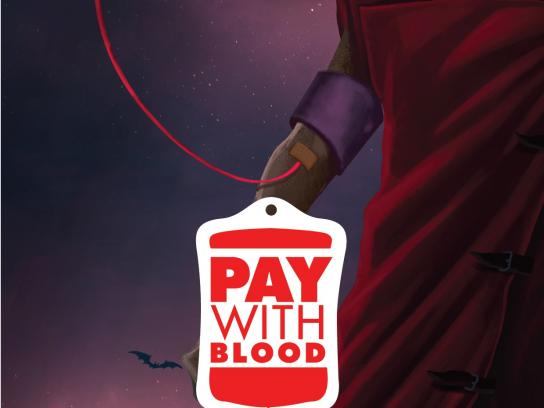 Untold Festival Outdoor Ad -  Pay with blood, 3
