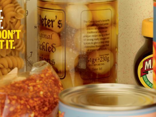 Marmite Outdoor Ad -  Cupboard, 1