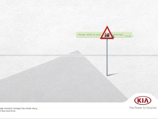 KIA Print Ad -  Train