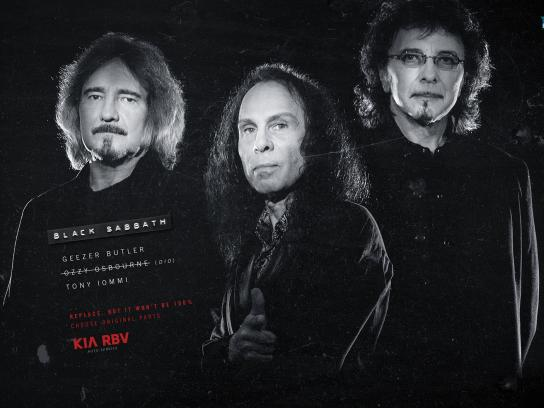 KIA Print Ad -  Black Sabbath